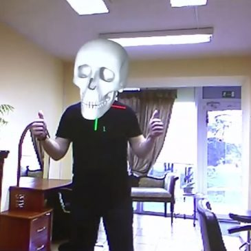 Augmented Reality Tutorial No. 9: Augmented Reality using Kinect (Augmenting Skull and Iron Man Helmet)