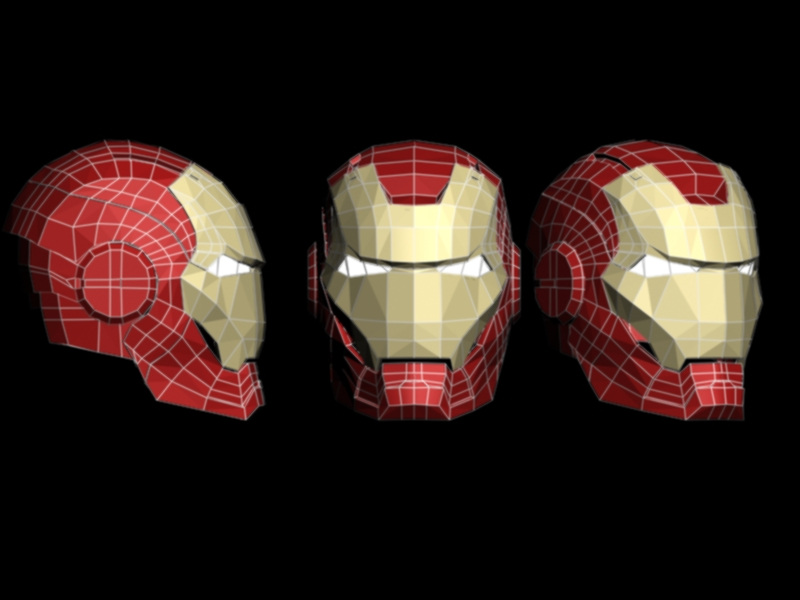 Arduino and Virtual Object Manipulation (Iron Man Helmet) DEMO