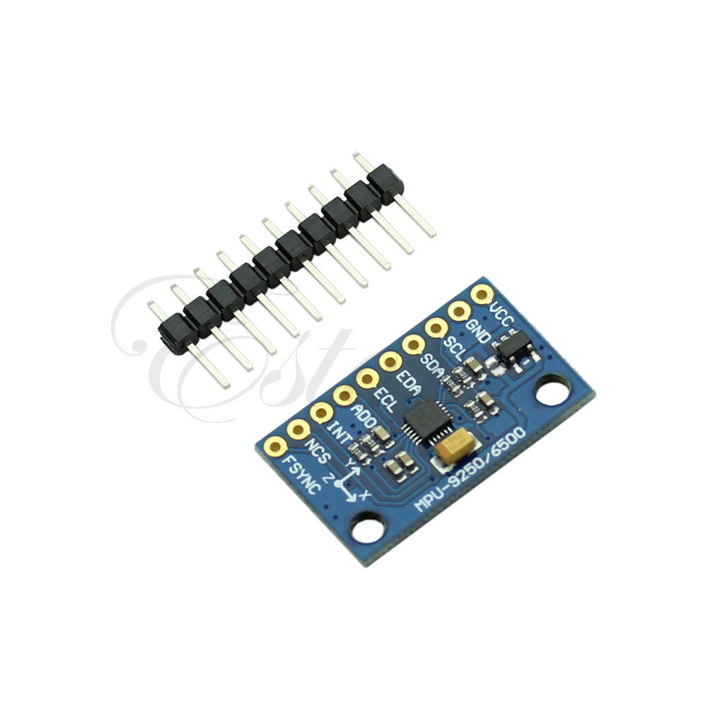 Arduino Pro Micro and MARG MPU-9250 for Inertial Mouse