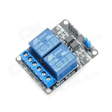 Arduino and Relay Module with Optocoupler
