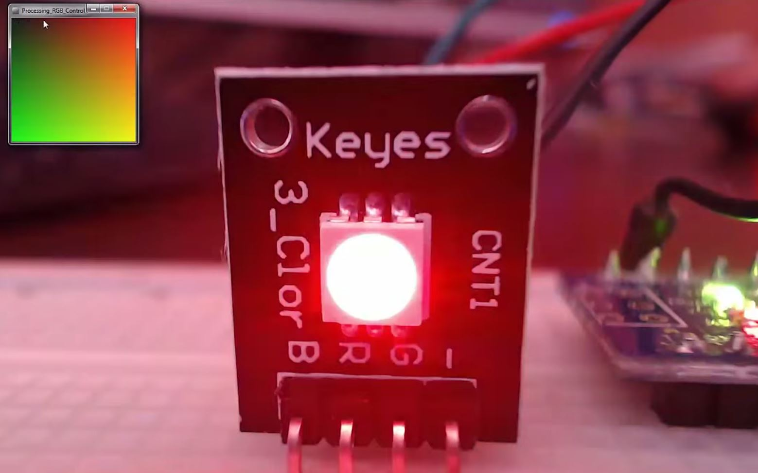 Arduino and RGB Control using Processing