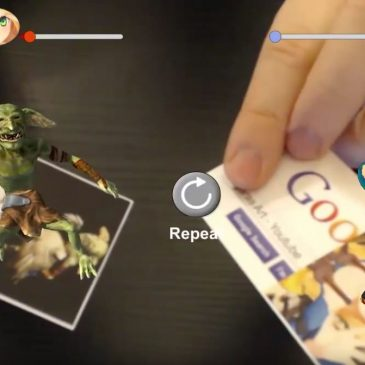 [DEMO] Augmented Reality Dance Fight Card Game